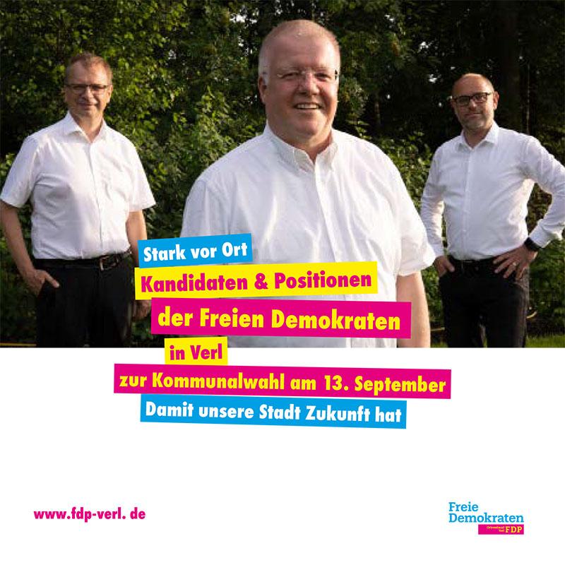 Wahlprogramm zur Kommunalwahl